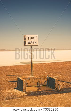 Foot Wash In Bonneville
