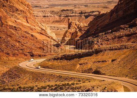Desert Utah Highway