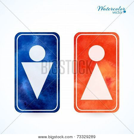 signs - toilet