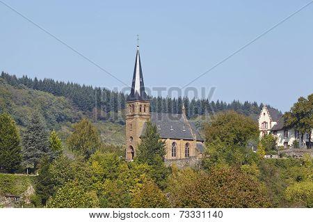 Saarburg - Evangelic Church At Saarburg