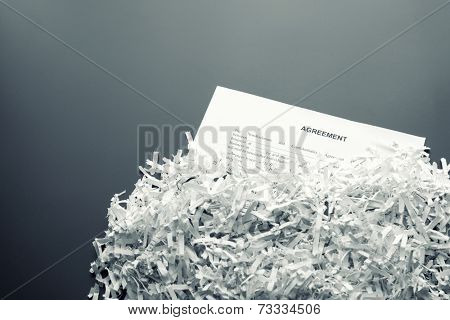 Shredded agreement