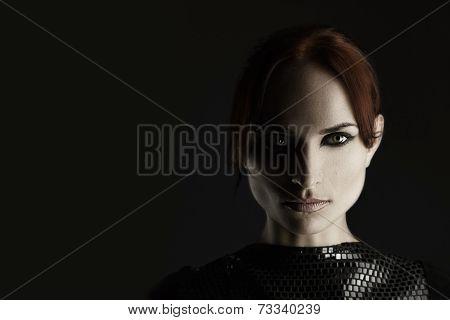 Strong Woman Portrait