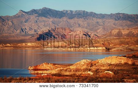 Lake Mead near Valley of Fire State Park