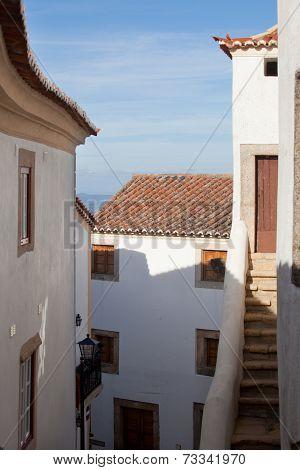 Architecture In Marvao, Alentejo, Portalegre, Portugal