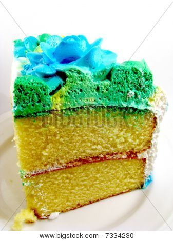 Slice of Layer Cake