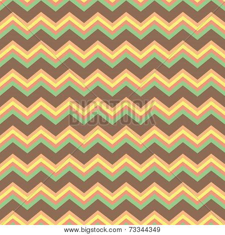 Chevron Pattern In Pastels