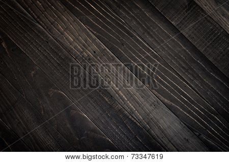 closed up of dark brown wood texture.