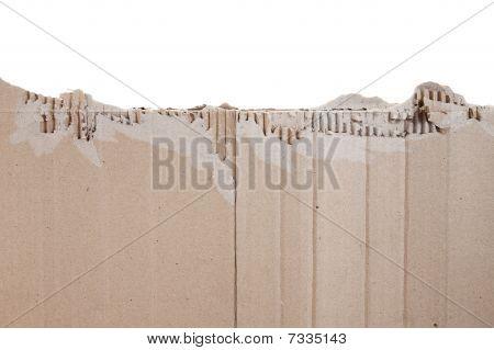 Piece Of Torn Cardboard