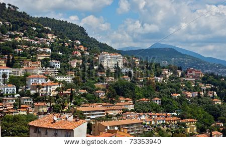Grasse - Panoramic View Of Grasse Town