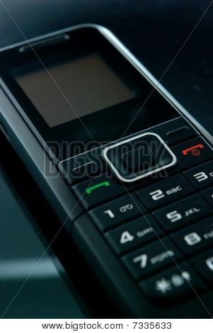 schwarz Handy