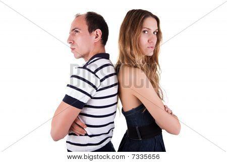 Couple  Back To Back