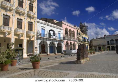 """""""plaza Vieja"""" In Old Havana, Cuba. October 2009"""