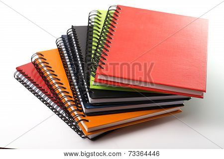 Daily Note Book Isolated