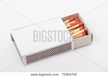 Match And Matchbox Isolated