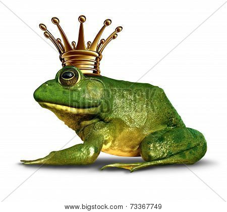 Frog Prince Side View
