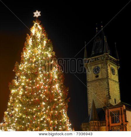 Christmas time Prague Czech Republic