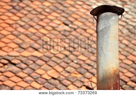 Rusty Tin Chimney