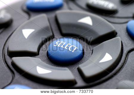 Remote Control Select Button