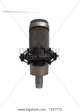 Studio Vocal Microphone Isolated