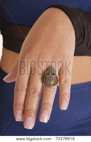 Skull Ring Finger