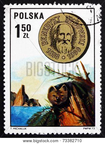 Postage Stamp Poland 1973 Benedykt Tadeusz Dybowski