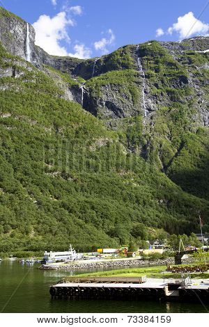 Wonderful landscape in Lysefjord