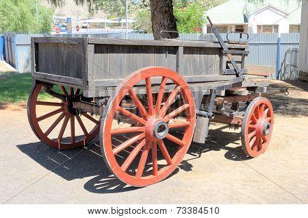 Horse Or Ox Drawn Wagon