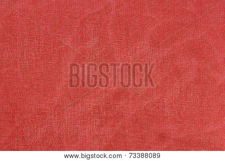 red organza fabric texture