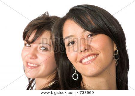 Beautiful Latin Sisters