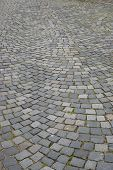 picture of cobblestone  - Abstract background of cobblestone pavement.