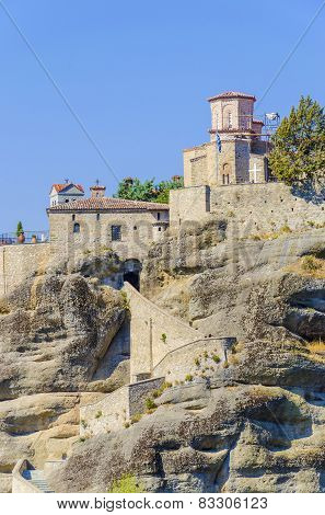 The Holy Monastery of Rousanou in Meteora, Greece