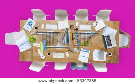 Office Work Place Table Place of Work Concept