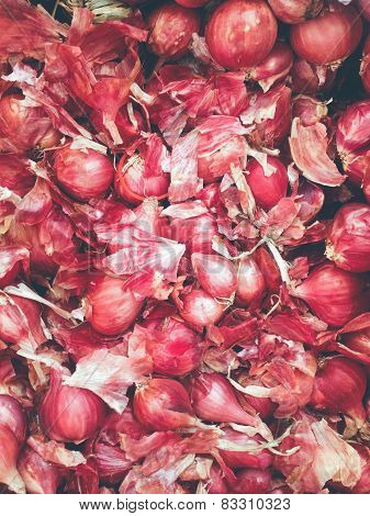 Shallot,asia red onion.