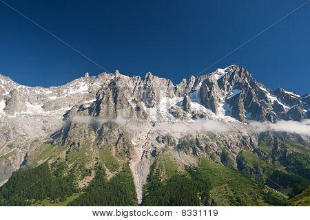 Grandes Jorasses - Mont Blanc