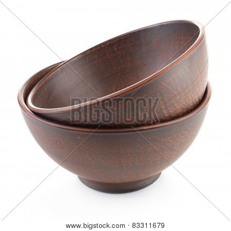 Pottery isolated on white