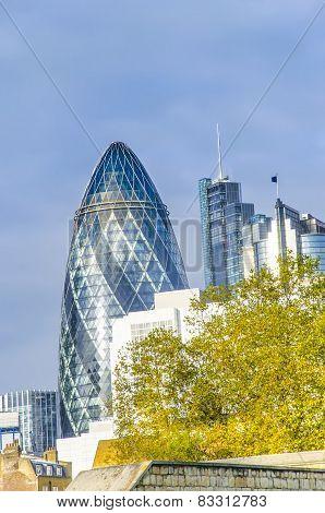 Financial District of London, UK