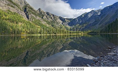 Avalanche Lake Refections