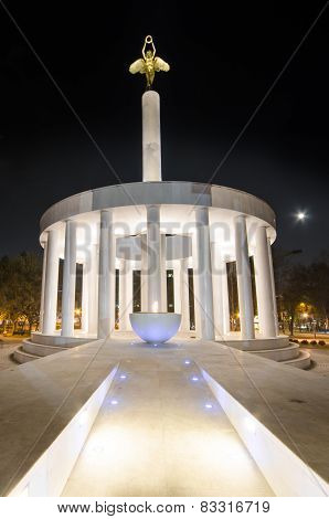 Monument of heroes in Skopje, Macedonia
