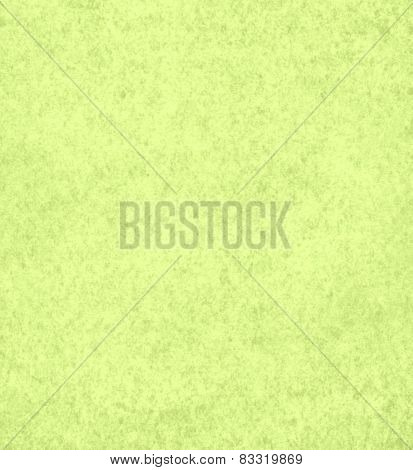 Background with  old paper texture in light green