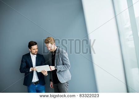 Young Men With Tablet