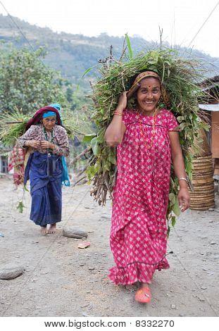 Two Gorkhas Woman