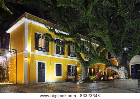 Portuguese Colonial Architecture In Macau China