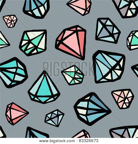 vector diamond colorful