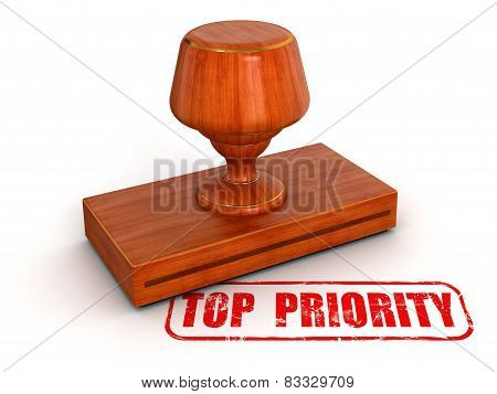 Rubber Stamp Top Priority