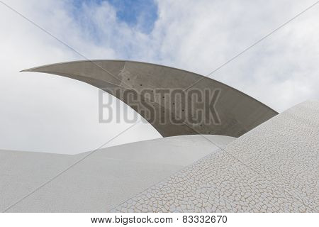 Part Of Concert Hall Calatrava