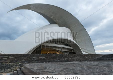 Oratorium Of Calatrava With Evening Sky