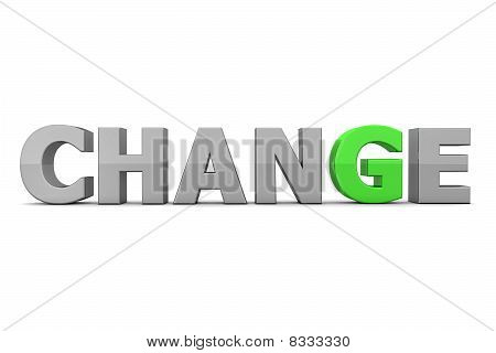 Chance To Change - Grey And Green