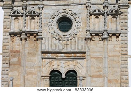 Outeiro, Portugal, Holly Christ minor basilica main facade
