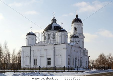 Orthodox Cathedral of Elijah the Prophet,  Soltsy. Russia