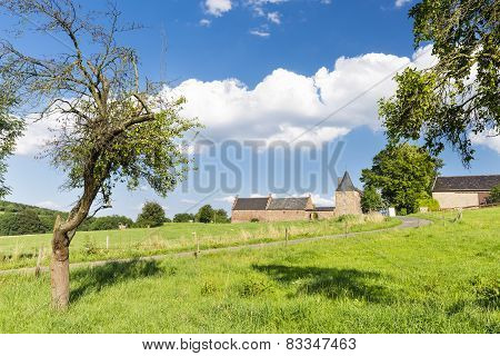 Old Farm House In The Eifel, Germany